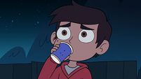 S2E41 Marco Diaz drinking punch by himself