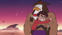 S3E22 Marco Diaz pounding on Talon Raventalon
