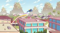 S2E16 Porcupine beast jumps off end of rainbow bridge