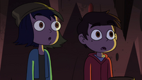 S4E13 Marco and Janna see Stone glow yellow