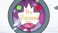 S4E9 The Ponyhead Show! logo on phone