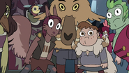 S3E24 Mewmans and monsters looking at Star