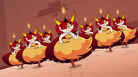 S4E24 Hekapoo and clones charge at Globgor