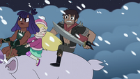S4E5 Star, Marco, and Brunzetta continue onward