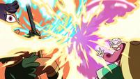 S4E5 Star and Brunzetta overwhelmed by fire