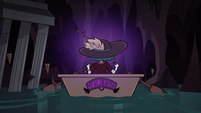 S4E23 Eclipsa rows down underground river