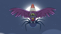 S2E2 Ludo, spider, and eagle in threatening sync
