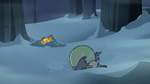 S2E2 Ludo trips over in the snow