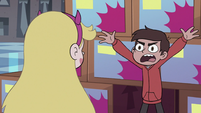 S3E15 Marco Diaz yelling 'why?!'