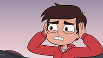 S3E19 Marco Diaz looking distressed at Jorby