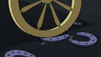 S3E1 Carriage rolls over warnicorn horseshoes