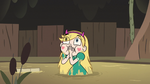 S3E5 Star Butterfly covering her mouth