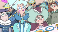 S2E15 Queen Butterfly and her family listen to River