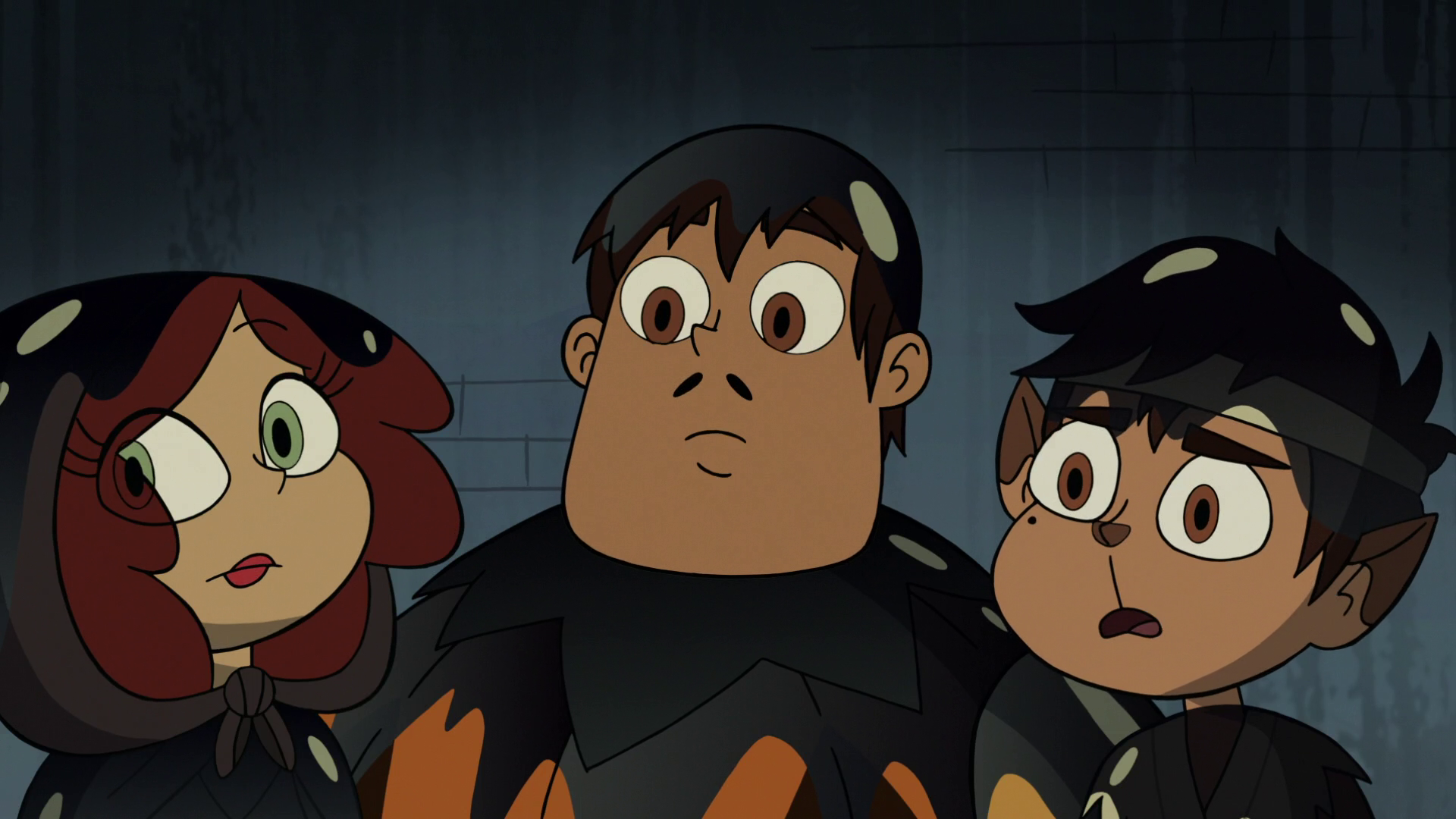 Image - S2E21 Marco, Rafael, and Angie listen to Hungry Larry.png ...