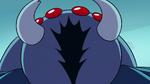 S2E2 Spider shrieking in Ludo's face