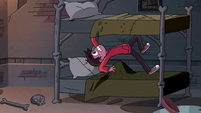 S4E1 Big lump pops up in Marco's bed