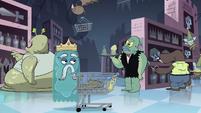 S1E8 Extra-dimensional creatures shopping