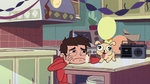 S3E1 Marco Diaz wallowing in despair