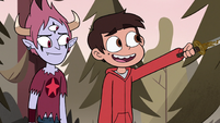 S3E37 Marco 'got some dried blood on it'
