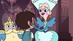 S3E8 Queen Butterfly saying goodbye to Marco Diaz