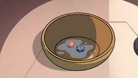 S4E13 Two marshmallows in Star's bowl