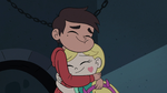 S3E7 Marco Diaz hugging Star back