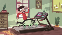 S2E11 Marco running uncontrollably on the treadmill