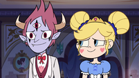 S3E10 Star Butterfly looks tenderly at Tom