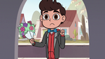 S3E13 Marco Diaz dressed up for a date