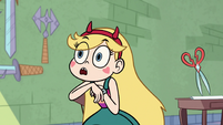 S1E9 Star Butterfly tongue tied