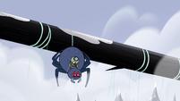 S2E2 Ludo and spider drop into the ravine