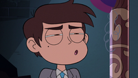 S3E24 Marco looking disgusted at Tom
