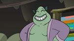 S3E5 Buff Frog smiling like a proud father