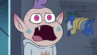 S4E17 Meteora shouting and sweating