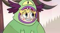 S3E17 Star Butterfly wearing a monster disguise