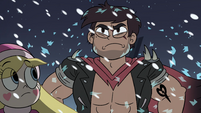 S4E5 Marco shatters the frost on his abs