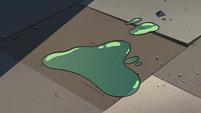S3E24 Slime Monster's slime falls on the floor