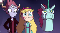 S4E25 Star Butterfly starting to cry