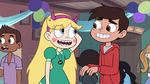 S2E41 Star and Marco laughing embarrassed
