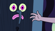 S3E9 Glossaryck appears in Star's bedroom door