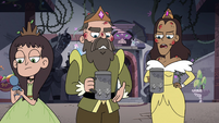 S4E10 King and Queen offended by tableware