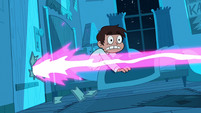 S1E14 Magic blasts through Marco's door