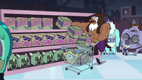 S4E11 Talon Raventalon buying a lot of bird seed