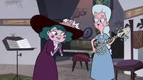 S4E3 Eclipsa impressed by Moon's playing