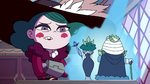 S3E29 Eclipsa disgusted by Shastacan's hologram