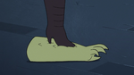 S3E33 Meteora Butterfly steps on Rasticore's arm