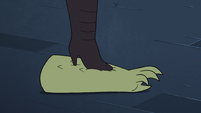 S3E33 Meteora Butterfly steps on Rasticore's arm