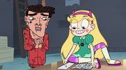 S3E32 Star Butterfly taking Marco's Essence Test