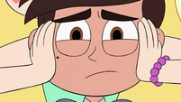 S3E34 Star holding Marco's face