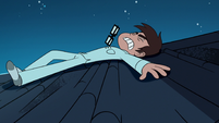 S1E14 Marco falls onto the roof